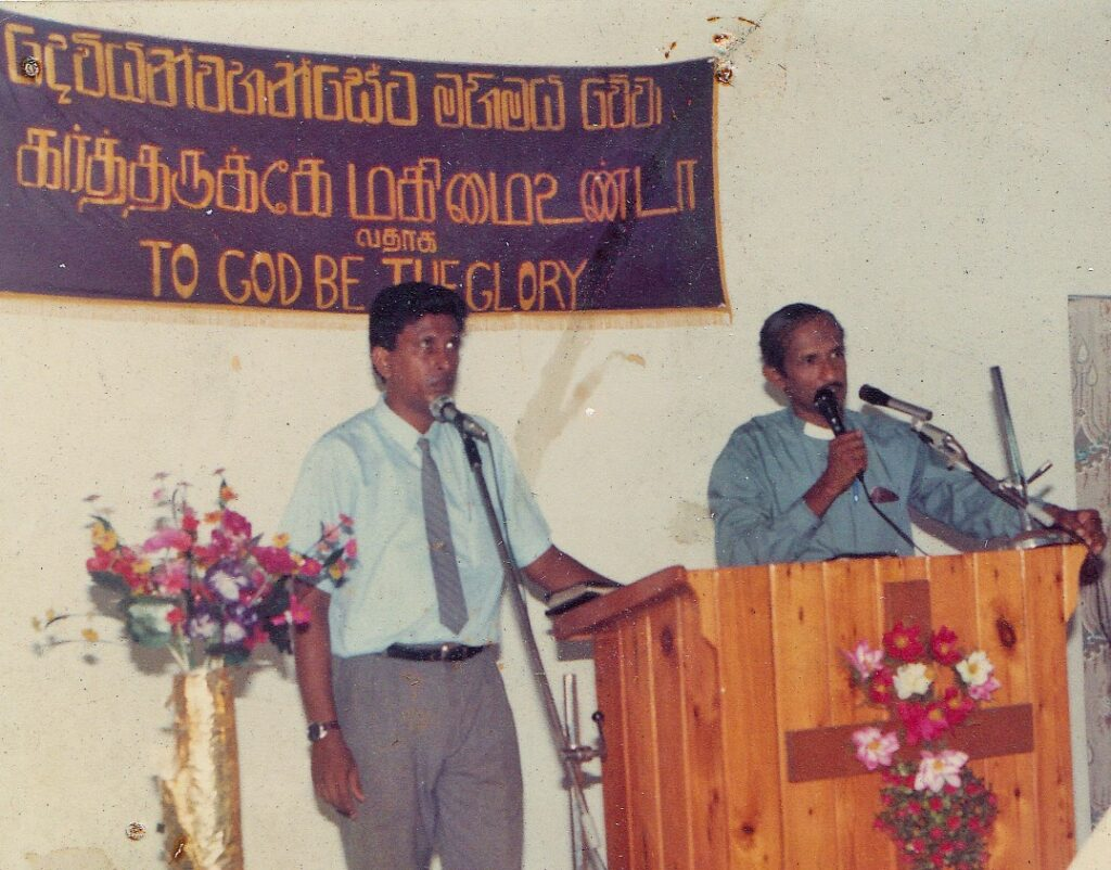 Rev. Susiri preaching