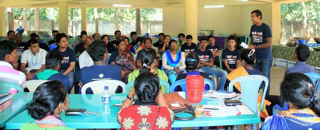 Bangladeshi trainers teaching ISMT