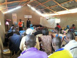 ISMT inside church, Kenya