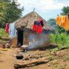 Uganda Typical Village Home
